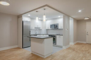 fully renovated 1 bedroom with washer/dryer in Westmount - 3 1/2