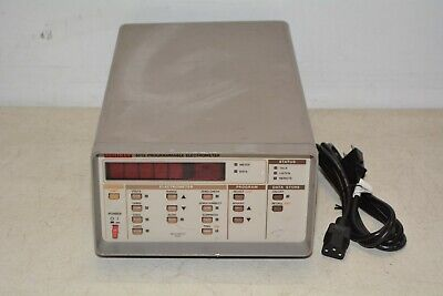 Keithley 6512 Programmable Electrometer Read M83