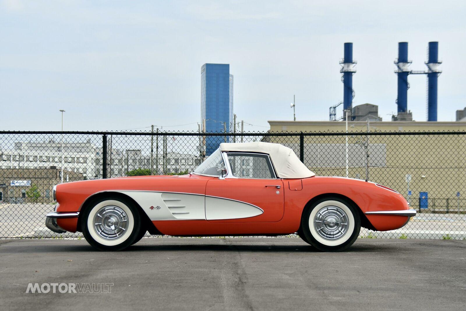 1958 Red Chevrolet Corvette   | C1 Corvette Photo 5