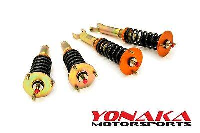 Honda Prelude Springs - Yonaka Honda Prelude 92-01 Spec 2 Coilovers Lowering Kit BB1 Shocks Springs