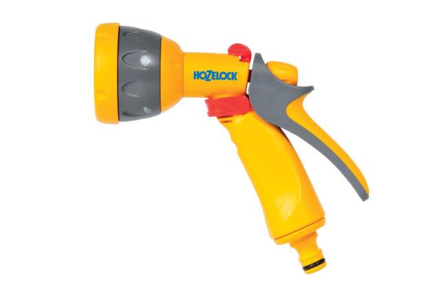 Hozelock 2676 Multi Water Spray Gun Yellow & Grey