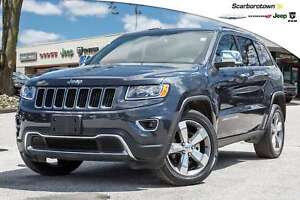 2016 Jeep Grand Cherokee Limited+NAVIGATION+SUNROOF+20WHLS+MORE