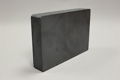 Heavy Duty Ferrite Blocks Rectangular Magnet - 6x4 - New