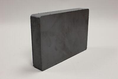 Heavy Duty Ferrite Blocks Rectangular Magnet - 6x4 - New