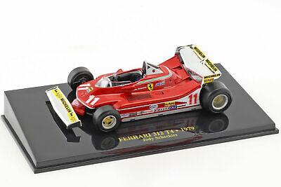 Rare 1/43 Jody Scheckter Ferrari 312 T4 #11 World Champion Formula 1 1979 Atlas