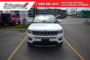 2018 Jeep Compass LIMITED |CERTIFIED|PANO ROOF|NAV|LEATHER|+++