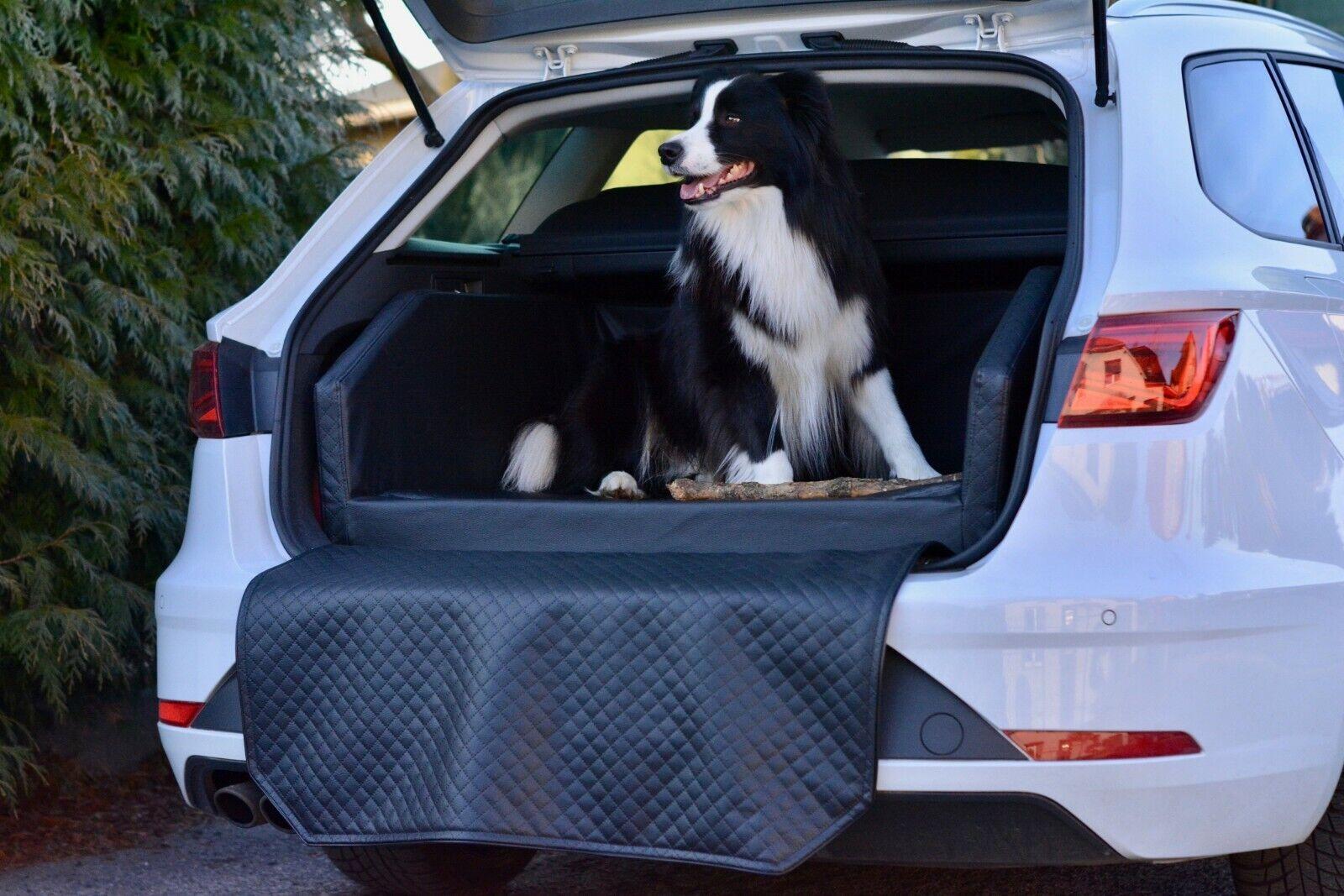 Autohundebett Anschnallsystem Transportbett Hundebett Kofferraum Autoschondecke