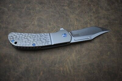 Pena X Series Lanny's Clip Jiggered Ti Handle, S35VN Custom Knife, NEW
