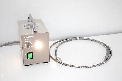 Olympus Ilk-5 Borescope Videoscope Light Source W 5mm Light Guide Cable