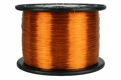 Temco Magnet Wire 26 Awg Gauge Enameled Copper 200c 7.5lb 9435ft Coil Winding