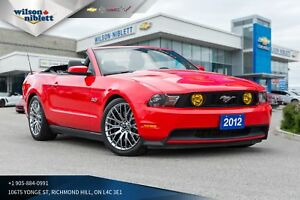 2012 Ford Mustang GT | 412 HP | LEATHER/ HEATED SEATS |
