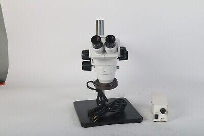 Scienscope Sz-bd-b2 Microscope W Wf10x22 Eyepieces Meiji Techno Ma964tf Light