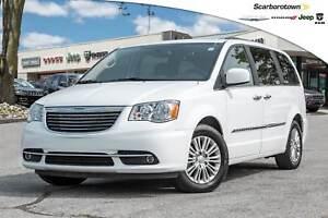 2016 Chrysler Town & Country Touring-L+LTHR+DVD+POWER-DOOR+NAV+R