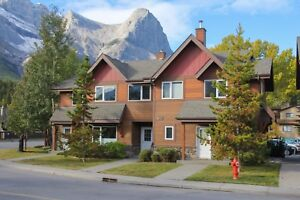 3 bedroom Downtown Canmore townhouse.  Available immediately