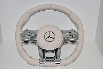 Original Mercedes-Benz Amg Lenkrad mit Modul Porcellan Maybach W222 C217