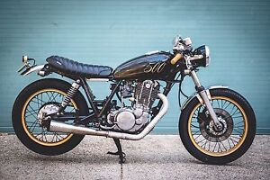 1983 Yamaha SR500 Cafe Racer Paddington Eastern Suburbs Preview