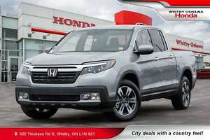 2019 Honda Ridgeline Touring | Power Moonroof, Heated Front and