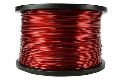 Temco Magnet Wire 16 Awg Gauge Enameled Copper 5lb 155c 625ft Coil Winding