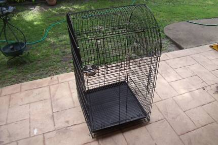 BIRDS CAGE AVIARY NEW GOOD SIZE WITH ONE S/S FEEDER Bongaree Caboolture Area Preview