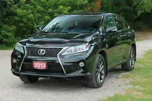 2013 Lexus RX 350 F Sport Sunroof   AWD   CERTIFIED + E-Tested