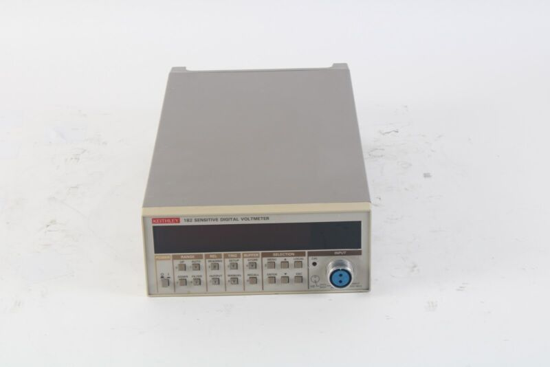 Keithley 182 Sensitive Digital Voltmeter 3/8A 90-125V 3/16A 180-250V