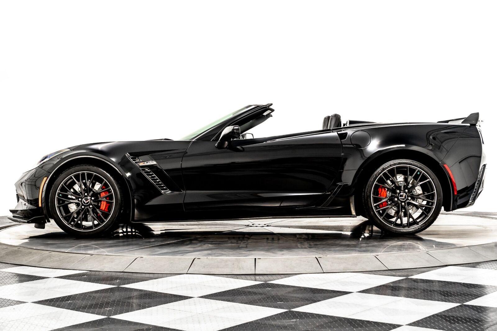 2015 Black Chevrolet Corvette Z06 3LZ   C7 Corvette Photo 5