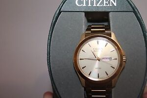 Men's gold Citizen Eco drive watch Maryland Newcastle Area Preview