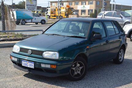 1998 Volkswagen Golf manual hatchback