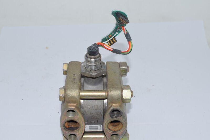 Rosemount 1151 SST GP Range 3 SIL Fill Pressure Sensor Manifold