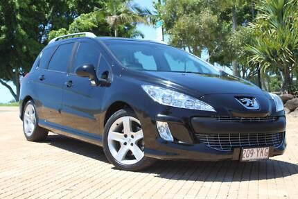 2009 Peugeot 308 T7 XSE Touring 5dr Spts Auto 6sp 2.0DT Merrimac Gold Coast City Preview