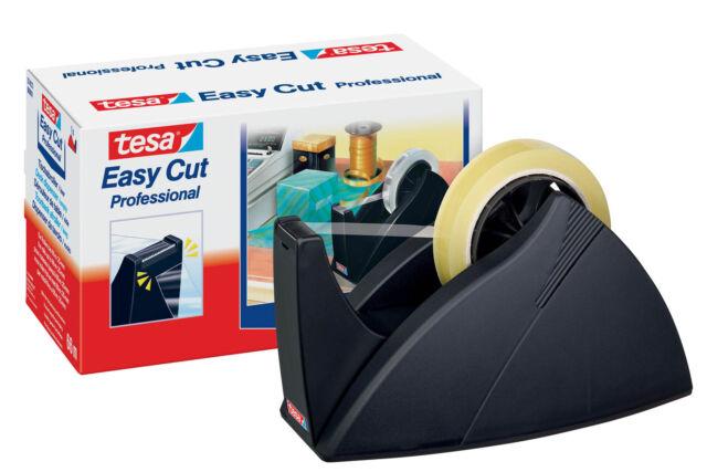 tesa® Tischabroller für Klebefilm tesa Easy Cut®, 66mx25mm, schwarz