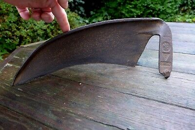 Antique scythe Made in Germany Probably 2WW Stamped SKF Gusstahl 40 cm Wide