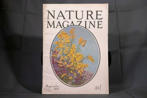 Antique Nature Magazine September 1927 Outdoor & Nature Publication