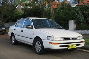 1999 Toyota Corolla Sedan Neutral Bay North Sydney Area Preview