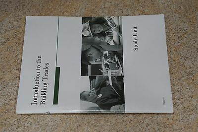 Penn Foster  Introduction To The Building Trades  Study Unit  15200100