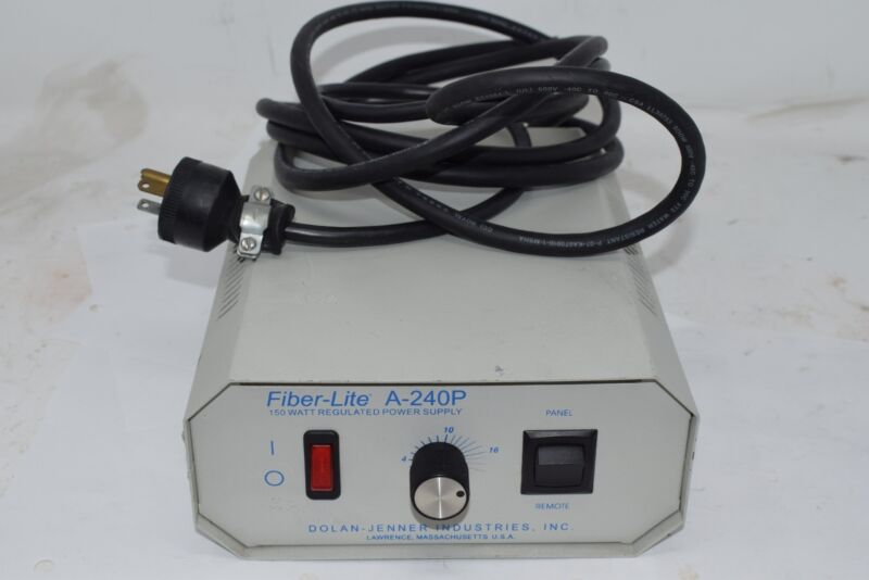Dolan Jenner Fiber-Lite A-240P Illuminator 150 Watt Regulated Power Supply