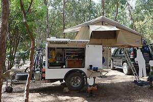 Custom off road Camper/trailer heavy duty lots of storage negotiable Labrador Gold Coast City Preview