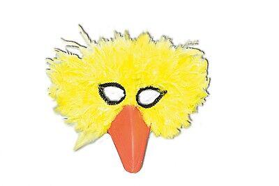 Kostüm Federdomino mit Schnabel Maske Vogel mit Federn Vogelmaske Ente Karneval - Vogel Schnabel Maske Kostüm