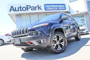 2016 Jeep Cherokee Trailhawk TRAILHAWK SUNROOF BACKUPCAM