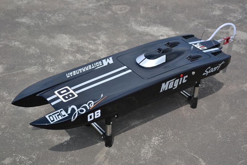 US Stock DT RC Electric Boat E32 Catamaran With MotorServo ESC Fiber Glass