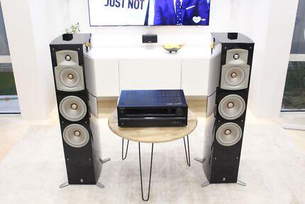 Yamaha NS-555 High End Speaker Pair + Onkyo TX-SR309 Receiver
