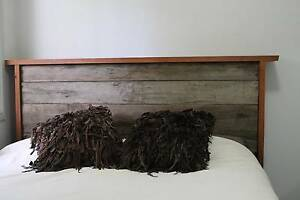 Reclaimed Hardwood Timber bed head Fairy Meadow Wollongong Area Preview
