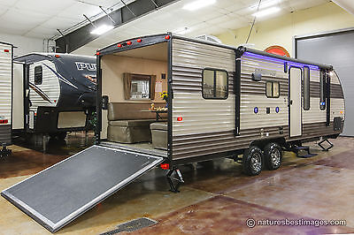 New 2018 22RR Limited Lite Lightweight Toy Hauler Travel Trailer Camper For Sale