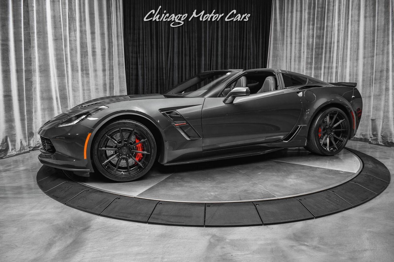 2017 Gray Chevrolet Corvette Grand Sport 2LT   C7 Corvette Photo 1