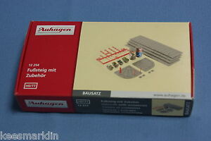 Auhagen-12-254-Side-walk-amp-Street-accessories-Un-build-KIT-HO