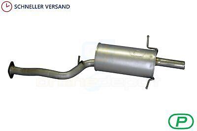 Endschalldämpfer passend für Subaru Forester 2.0i 2002-2008 Endtopf Auspuff