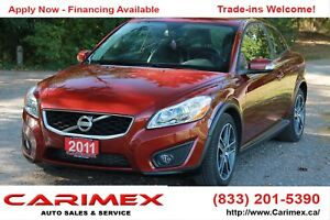 2011 Volvo C30 T5 Level 2 Leather | Sunroof | CERTIFIED