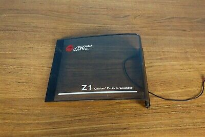 Beckman Coulter Z1 Particle Counter Z Series Front Panel Cover Door