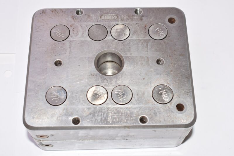Injection Molding Plate, Model: H-13, 5-1/4