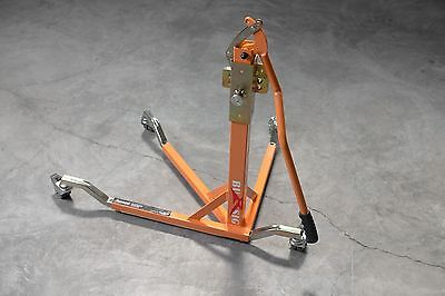 BURSIG Motorcycle Center-Lift Stand Paddock Garage Orange KTM BMW *BACKORDERED**
